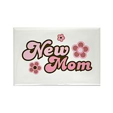 New Mom Rectangle Magnet