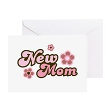New Mom Greeting Card