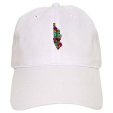 NYC Color Coded Map Baseball Cap