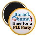 "Pee Party 2.25"" Magnet (10 pack)"