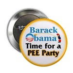 "Pee Party 2.25"" Button (100 pack)"
