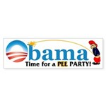 Pee Party Bumper Sticker (10 pk)