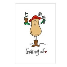 Gardening Nut Postcards (Package of 8)