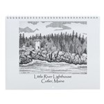Little River Lighthouse Wall Calendar