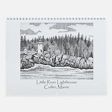 Little River Lighthouse Wall Calendar