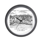 Little River Lighthouse Wall Clock