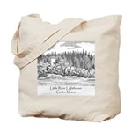 Little River Lighthouse Tote Bag