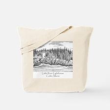 Little River Lighthouse Tote Bag