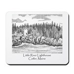 Little River Lighthouse Mousepad