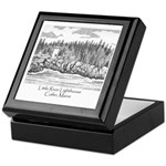 Little River Lighthouse Keepsake Box