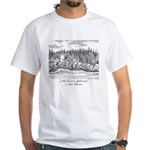 Little River Lighthouse White T-Shirt