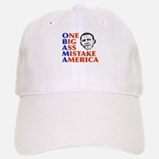 Obama: One Big Ass Mistake America Baseball Baseball Cap