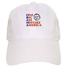 Obama: One Big Ass Mistake America Baseball Cap