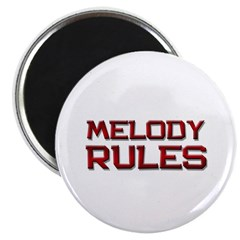 """melody rules 2.25"""" Magnet (10 pack)"""