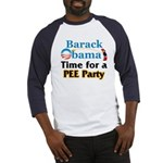 Pee Party Baseball Jersey