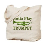 Green Gotta Play Trumpet Music Bag