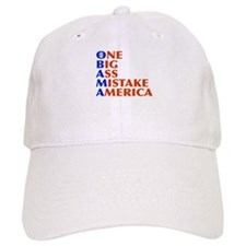 Obama: One Big Ass Mistake America Cap
