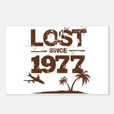 Lost with Sawyer since 1977 Postcards (Package of