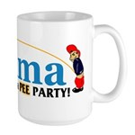 Pee Party Large Mug