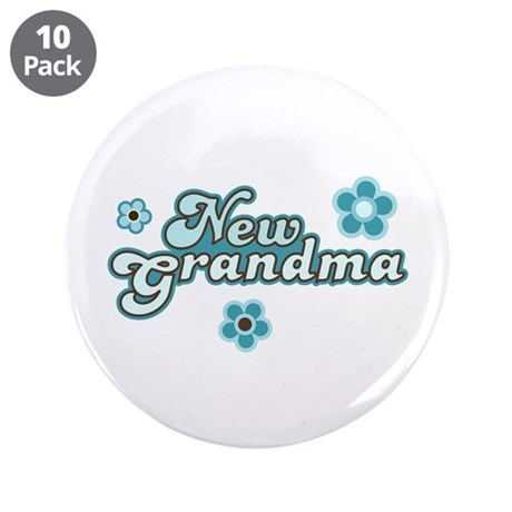 "New Grandma 3.5"" Button (10 pack)"