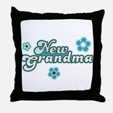 New Grandma Throw Pillow