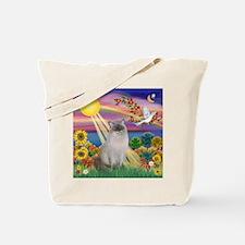 Autumn Sun / Ragdoll Tote Bag