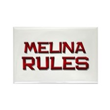 melina rules Rectangle Magnet