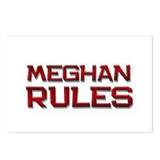 meghan rules Postcards (Package of 8)