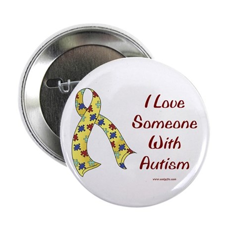 "Autism Love 2.25"" Button (100 pack)"