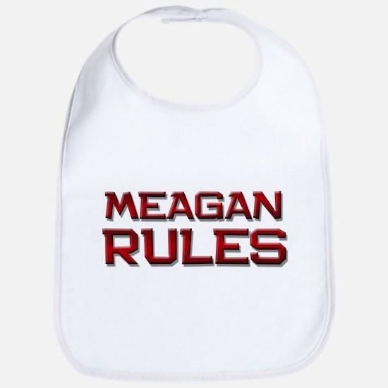 meagan rules Bib
