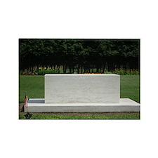 Roosevelt Grave Rectangle Magnet