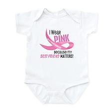 I Wear Pink For My Best Friend 33.2 Infant Bodysui