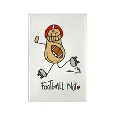 Football Nut Rectangle Magnet