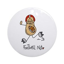 Football Nut Ornament (Round)