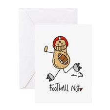 Football Nut Greeting Card