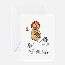 Football Nut Greeting Card