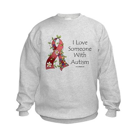 Autism Love Kids Sweatshirt