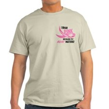 I Wear Pink For My Aunt 33.2 T-Shirt