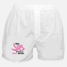 I Wear Pink For My Aunt 33.2 Boxer Shorts