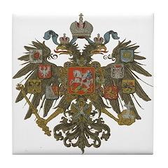 Romanov Dynasty Tile Coaster