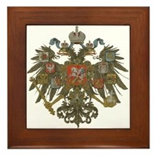 Romanov Dynasty Framed Tile