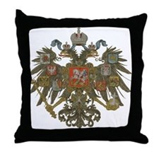 Romanov Dynasty Throw Pillow