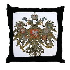 Romanov Dynasty Throw Pillow