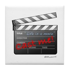 Film_jobactor1 Tile Coaster