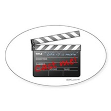 Film_jobactor1 Oval Decal