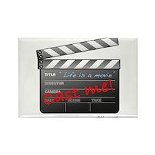 Film_jobactor1 Rectangle Magnet (100 pack)
