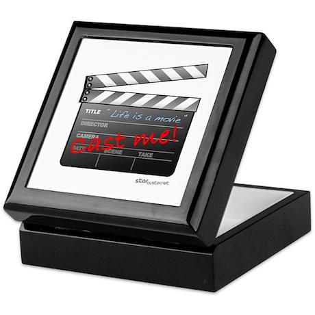 Film_jobactor1 Keepsake Box