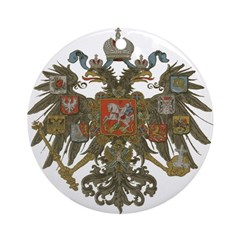 Romanov Dynasty Ornament (Round)