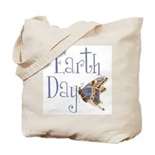 Earth Day Butterfly Tote Bag