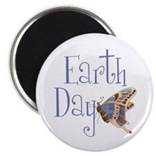 """Earth Day Butterfly 2.25"""" Magnet (100 pack)"""